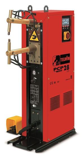 Obrázok z Stĺpová bodová zváračka PCP 28 LCD ramena 500 mm Telwin