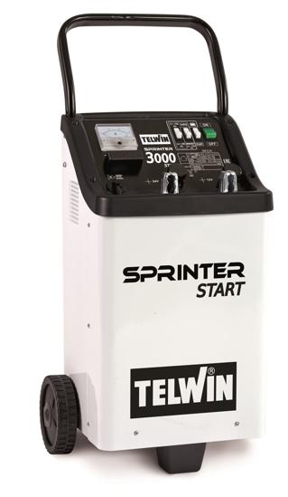 Obrázok z Štartovací vozík s nabíjačkou Sprinter 3000 Start Telwin