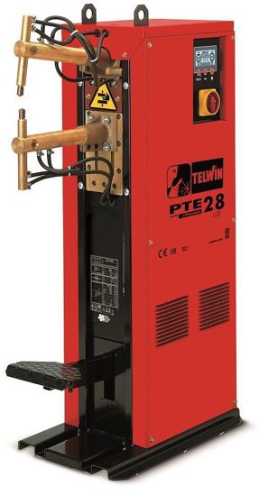 Obrázok z Stĺpová bodová zváračka PTE 28 LCD ramená 500 mm Telwin
