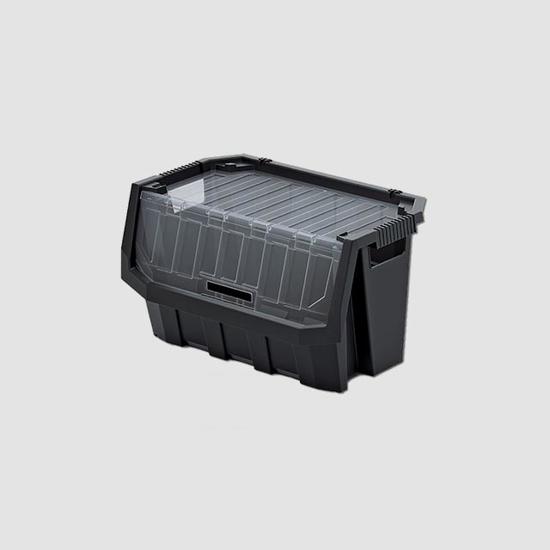 Obrázok z Plastový úložný box uzavíratelný TRUCK MAX PLUS 396x380x282mm