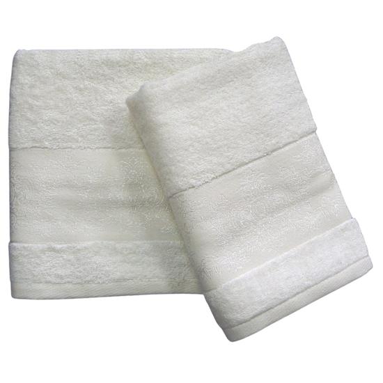 Obrázok z Bambusový ručník Jasmin smetanový 50x100 cm