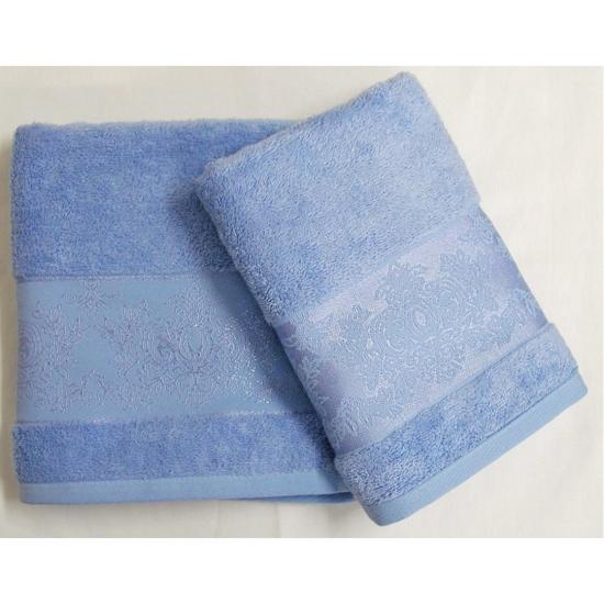 Obrázok z Bambusový ručník Jasmin modrý 50x100 cm