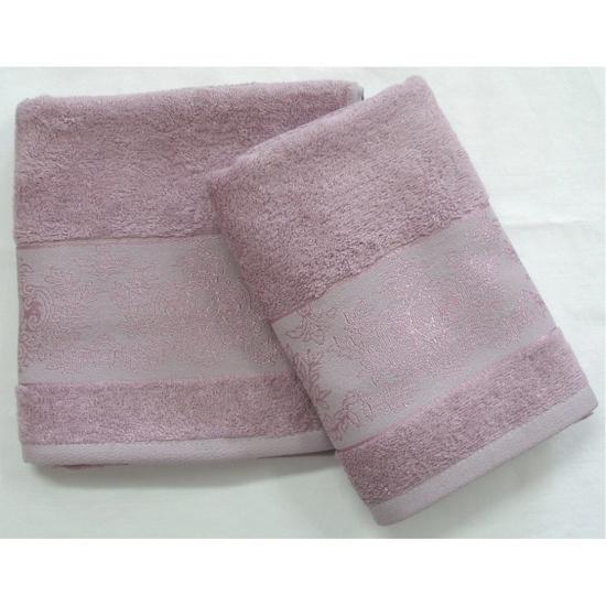 Obrázok z Bambusový ručník Jasmin fialový 50x100 cm
