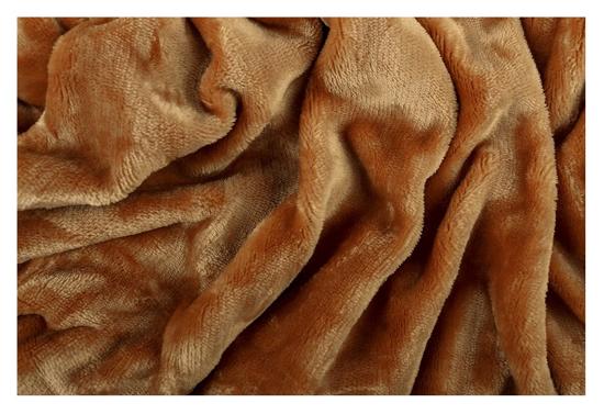 Obrázok z Prostěradlo mikroflanel okr 180x200x20 cm