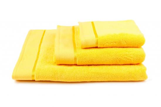 Obrázok z Osuška Star 70x140 cm žlutá