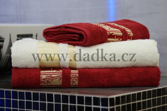 Obrázok z Bambusový ručník Exclusive 50x90 cm krémová