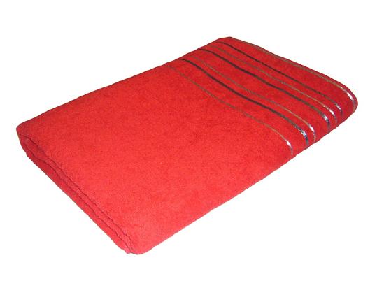 Obrázok z Ručník Zara 50x100 cm červená