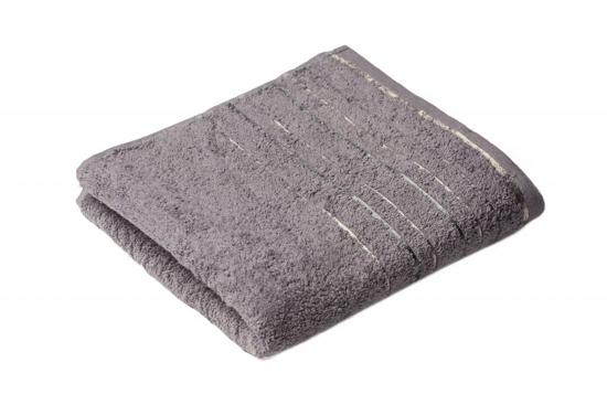 Obrázok z Ručník Zara 50x100 cm tmavě šedý
