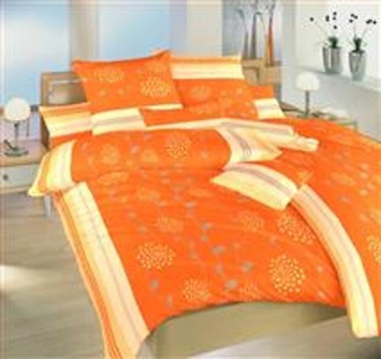 Obrázok z Povlečení krep Liána oranžová