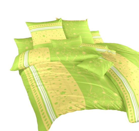 Obrázok z Povlečení krep Flower kiwi 70x90 cm povlak