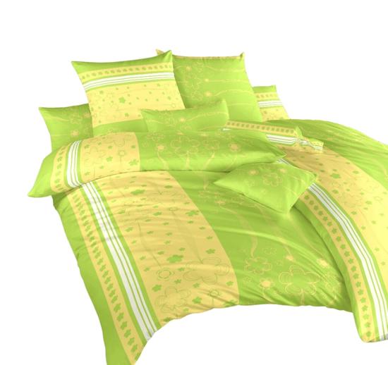 Obrázok z Povlečení krep Flower kiwi 220x200 cm povlak