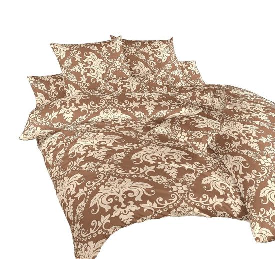 Obrázok z Povlečení krep Tapeta nugát 140x220, 70x90 cm