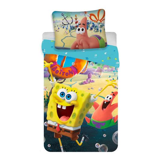 "Obrázok z Povlečení Sponge Bob ""Movie"" 140x200, 70x90 cm"