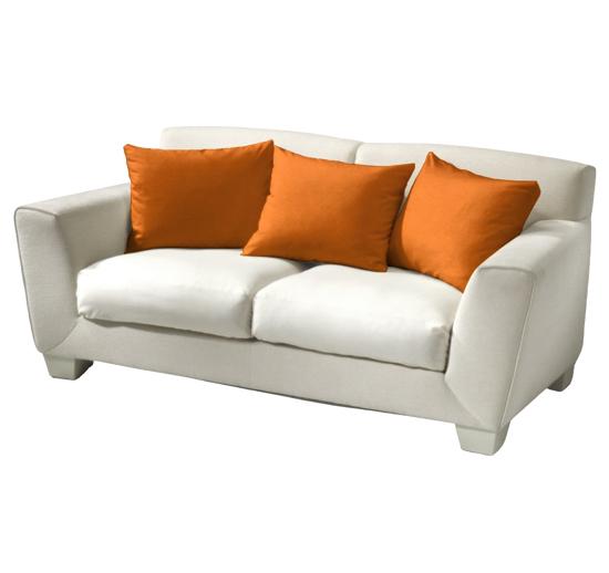 Obrázok z Povlak bavlna oranžová 40x40 cm