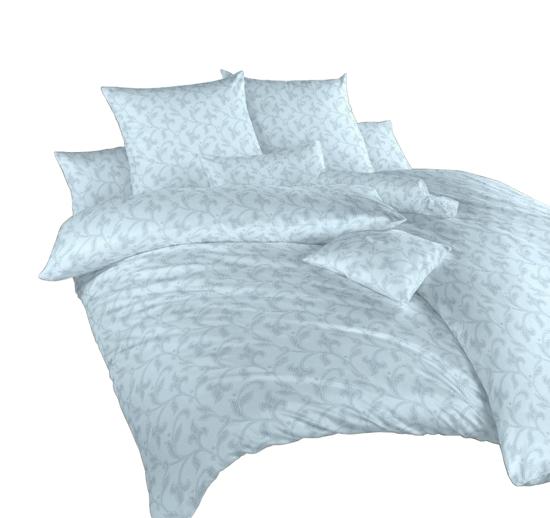Obrázok z Povlečení damašek Rokoko modré 140x200, 70x90 cm
