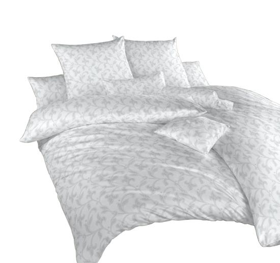 Obrázok z Povlečení damašek Rokoko šedé 200x200 cm povlak