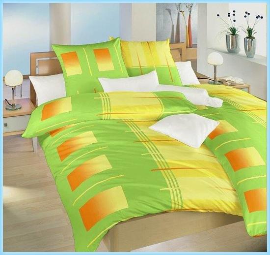 Obrázok z Povlečení bavlna Rolety zelené 140x200, 70x90 cm II.jakost