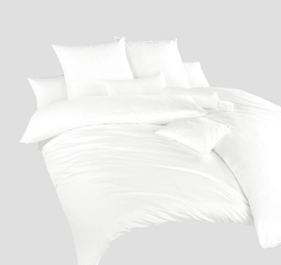 Obrázok z Povlečení satén Bílý 140x200, 70x90cm II.jakost