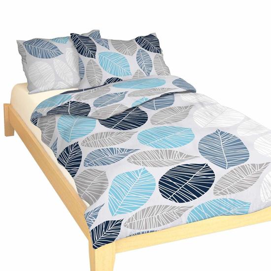 Obrázok z Povlečení bavlna Boris modrý 140x200, 70x90 cm II.jakost