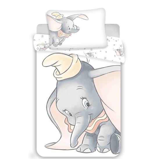 Obrázok z Disney povlečení do postýlky Dumbo grey 100x135, 40x60 cm