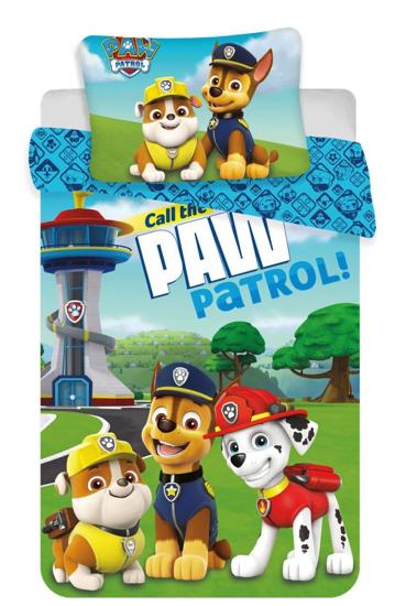 Obrázok z Disney povlečení do postýlky Paw Patrol 121 baby 100x135, 60x40 cm