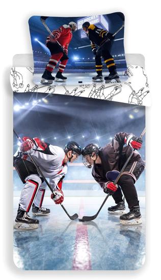 Obrázok z Povlečení fototisk Hokej 140x200, 70x90 cm