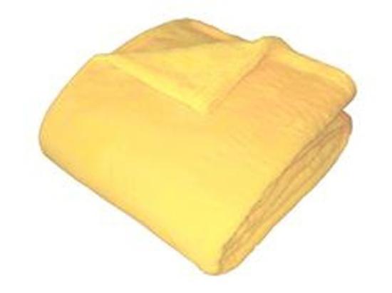 Obrázok z Super soft deka Dadka světle žlutá