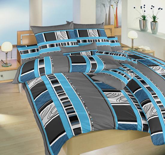 Obrázok z Povlak krep Rodeo modré 50x70 cm
