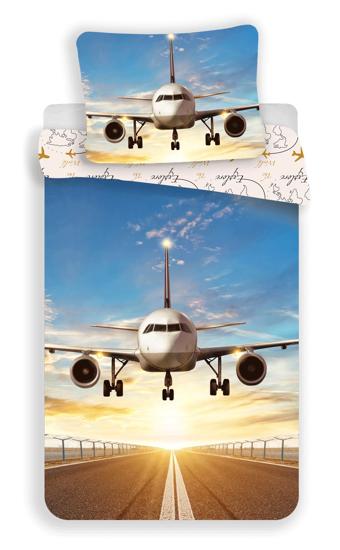 """Obrázok z Povlečení fototisk Letadlo """"Explore the world"""" 140x200, 70x90 cm"""