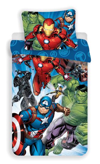 """Obrázok z Povlečení Avengers """"Brands 02"""" 140x200, 70x90 cm"""