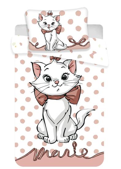 """Obrázok z Disney povlečení do postýlky Marie Cat """"Dots 02"""" baby 100x135, 60x40 cm"""