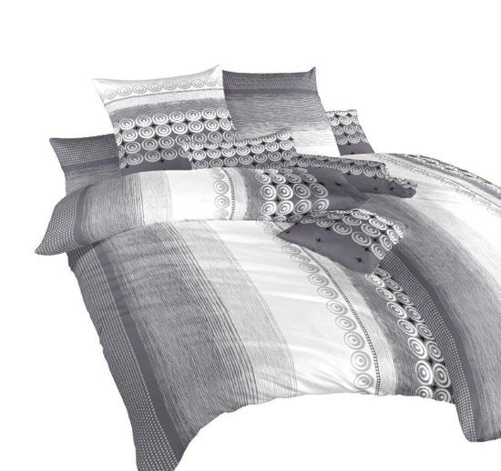 Obrázok z Povlečení krep Sahara šedá 240x200 cm povlak