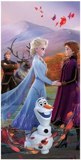 """Obrázok z Osuška Frozen 2 """"Wind"""" 70x140 cm"""