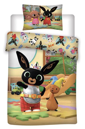 Obrázok z Disney povlečení do postýlky Králíček Bing 052 baby 100x135, 40x60 cm