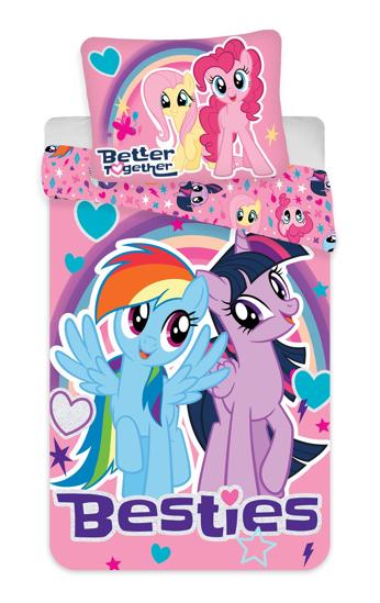 Obrázok z Povlečení My Little Pony 1001 140x200, 70x90 cm
