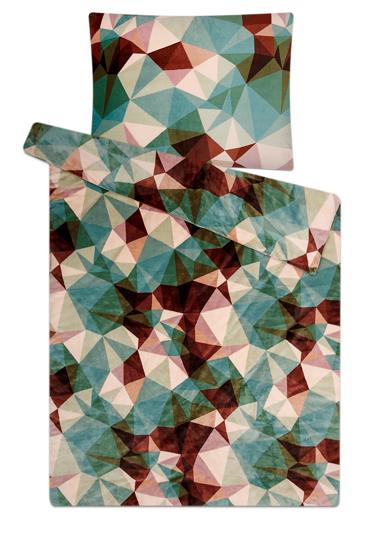 Obrázok z Povlečení mikroflanel Deep forest green 140x200, 70x90 cm