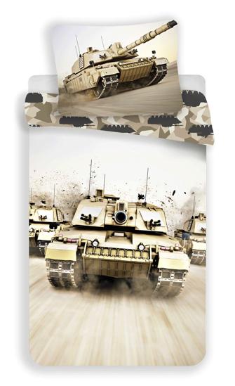 Obrázok z Povlečení fototisk Tank 140x200, 70x90 cm