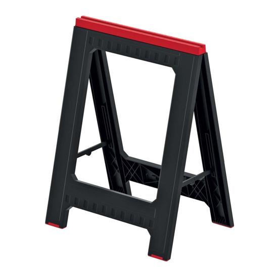 Obrázok z Podstavec stavební (koza) TITAN STAND černý 580x50x793mm