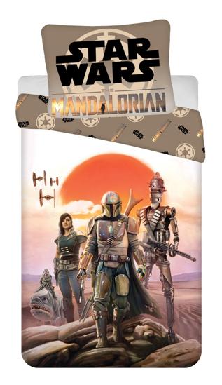 "Obrázok z Povlečení bavlna Star Wars ""Mandalorian"" 140x200, 70x90 cm"
